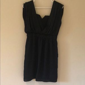 BCBGeneration grecian style black dress